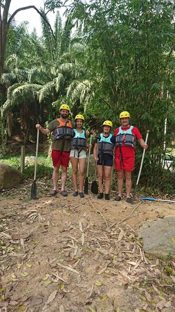 White Water rafting Slim River with xventure mind.