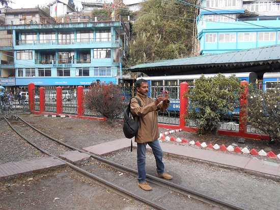 Darjeeling Himalayan Railway Ghoom Museum: Outside area