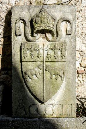 Labro, Italie : Stemma Nobili Vitelleschi del 1453