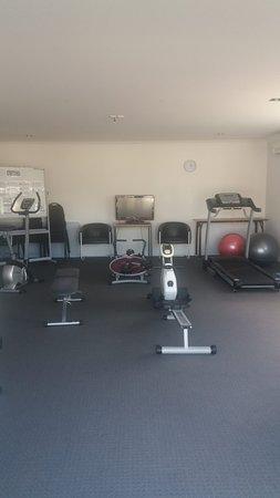 Pukekura Motor Lodge: The gym