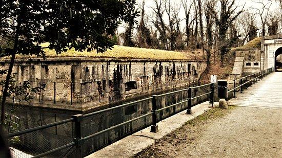 Mestre, Italy: ACCESSO AL FORTE