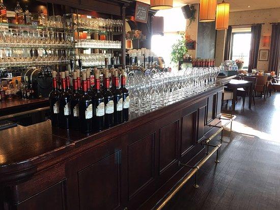 Restaurant Pieterman: De bar.