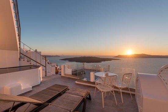Hotel Villa Renos, hoteles en Santorini