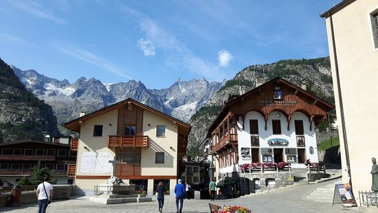 Courmayeur, Itálie: PARTENZA DEL PERCORSO