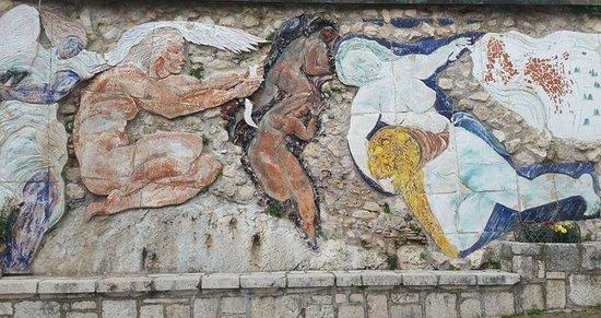 Cervara di Roma, Italia: Arte stupenda
