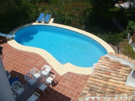 Playa La Granadella : Private 10x5 Pool at 6 Bed Rental Villa, sleeps up to 12 people, 2 mins from Granadella Playa.