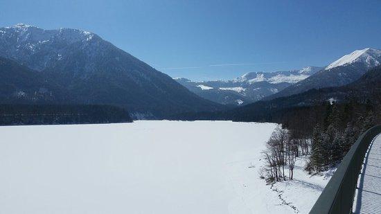 Jachenau, Germany: Sylvensteinsee