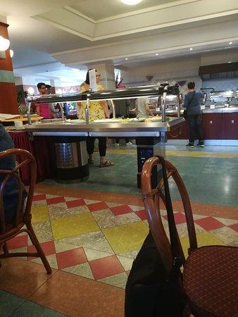 Hotel Caesar Palace: Sala colazioni