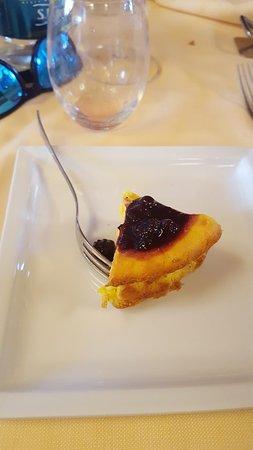 Questa è la porzione di torta.
