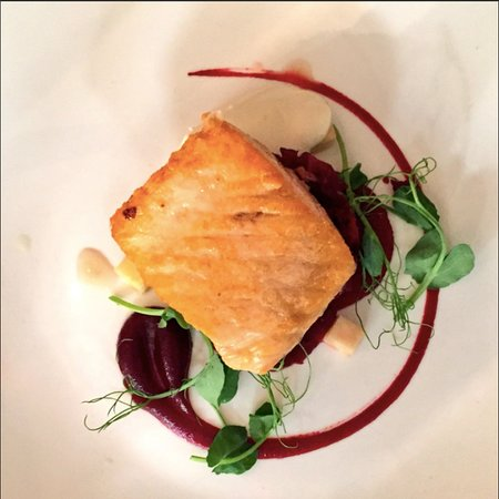 Trebetherick, UK: Salmon to start