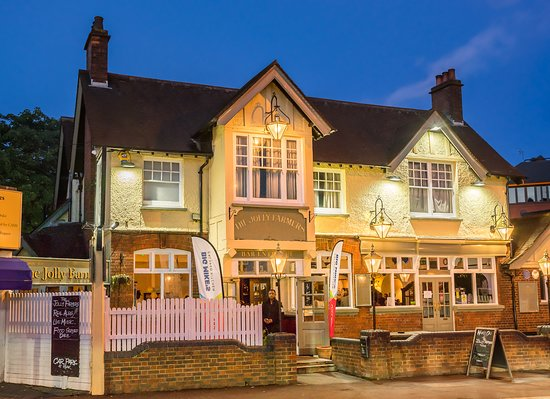 Purley, UK: Find us at the Jolly Farmers Purley