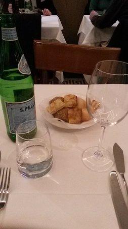 Antica Trattoria L. Sevieri: Tavolo