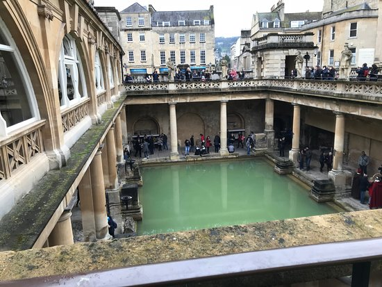 The main Bath on a wet Easter.