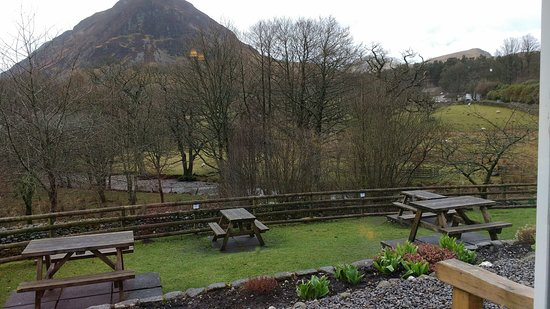 Loweswater, UK: View from our table