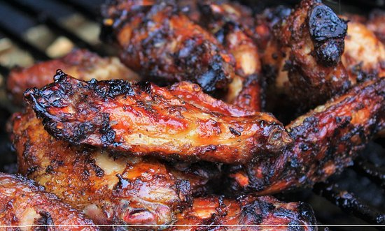 Purley, UK: Big Mikes Calypso Kitchen truly does give you wings, no additives preservatives just flavour.