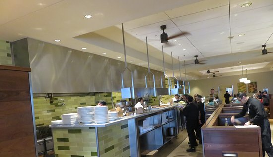 McCoy's Bar & Grill: You can see your food being placed by line staff after prep