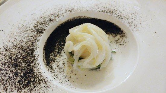 Rivignano, Italy: Calamaro in Purezza, Caprino di San Gregorio, Broccolo Fiolaro, Liquirizia di mare
