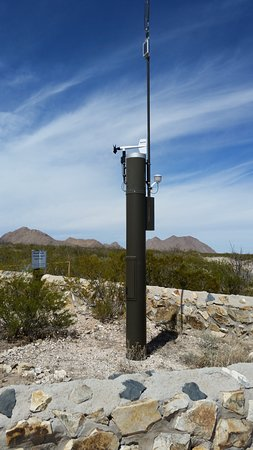 Chihuahuan Desert Nature Park: Weather station- one of many research sites