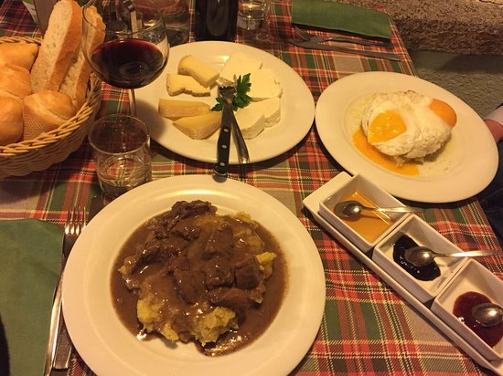 Джустино, Италия: Porzioni Trisa