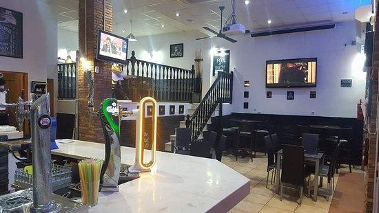 Inside Rayz Bar