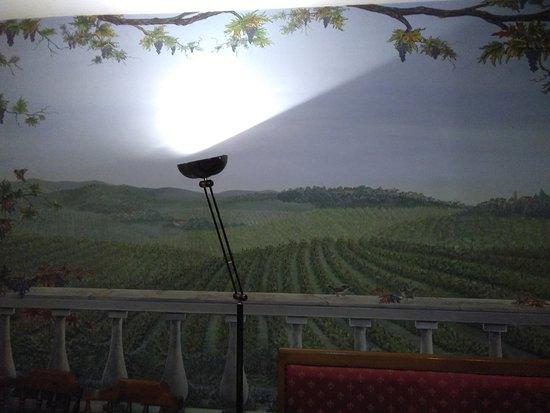 Santa Giuletta, Italien: Area sala inferiore