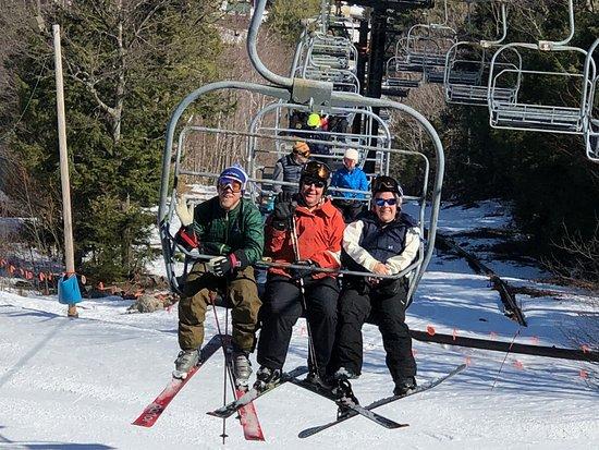 Bridgton, ME: Great Family Ski Day at Shawnee Peak, Maine