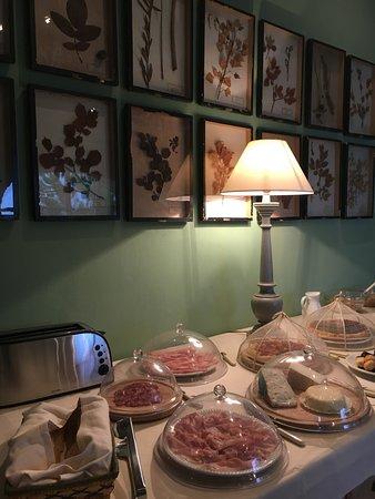 Grazzano Badoglio, Italia: colazione