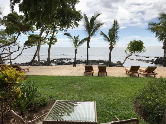 The Westin Turtle Bay Resort & Spa, Mauritius: View from Deluxe Beach Front room