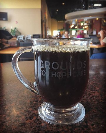 Lisle, IL: Freshly brewed, locally roasted coffees from Tugboat or I Have a Bean.