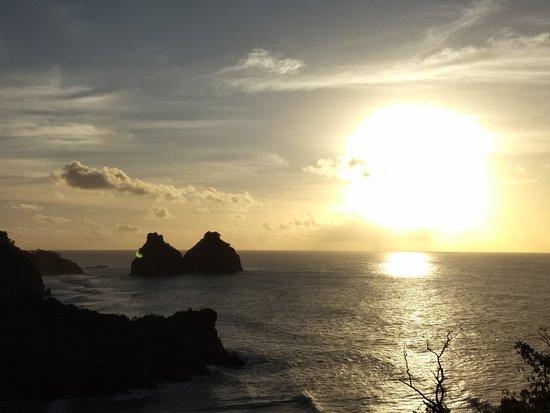 Штат Пернамбуку: Lindo por do sol em Noronha!