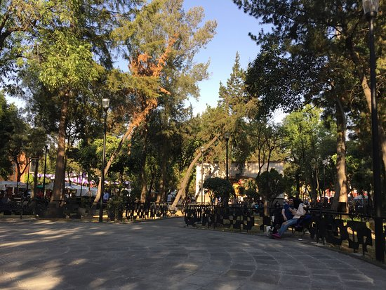 San Jacinto Plaza : View from our bench
