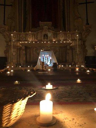 Chiesa Monte dei Morti Beata Vergine del Carmelo: ALTARE DELLA DEPOSIZIONE 29 MARZO 2018