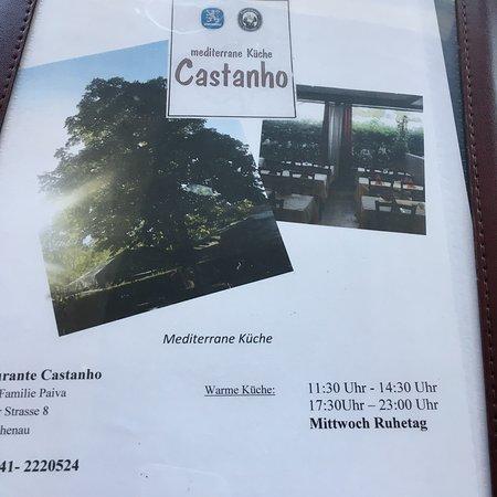 Eichenau b Muenchen, Alemanha: Restaurante Castanho