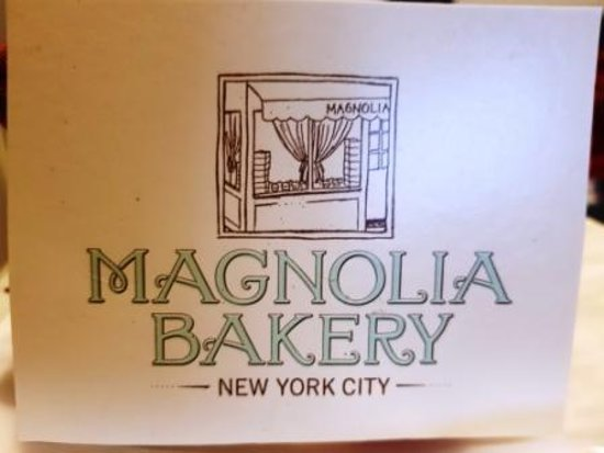 Business card picture of magnolia bakery new york city tripadvisor magnolia bakery business card colourmoves