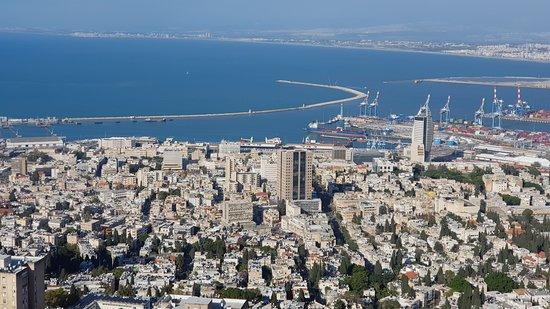Dan Panorama Haifa: Room view of the Haifa bay area