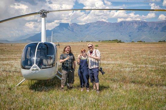 uKhahlamba-Drakensberg Park, South Africa: Champagne at the little burg landing