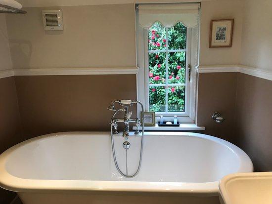 Fairlight, UK: The Bluebell Room bathroom
