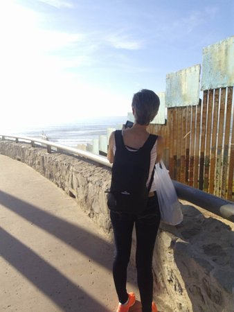 San Ysidro, CA: Visiting the Wall in the Corner of Mexico