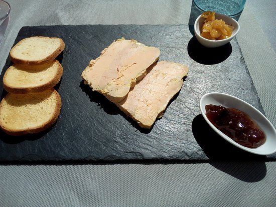 La Verrière : foie gras et accompagnement