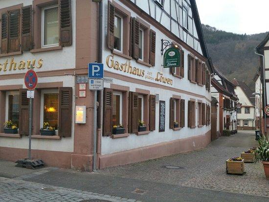 Annweiler am Trifels, Deutschland: Gut bürgerlich - mit pfälzischen Spezialitäten auf der Karte.