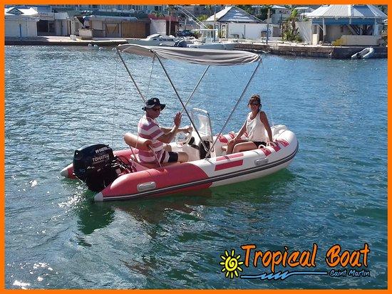 Tropical Boat Foto