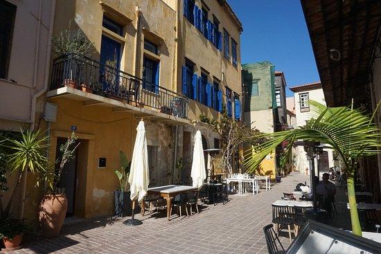 Heel wat leuke plaatsjes in het oude stadsdeel van Chania!