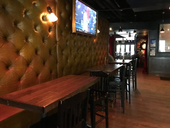Wall seats - Picture of British Beverage Company, Dallas - TripAdvisor