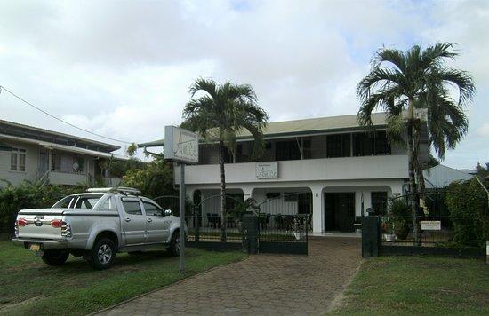 Guesthouse Amice: De voorkant van het guesthouse