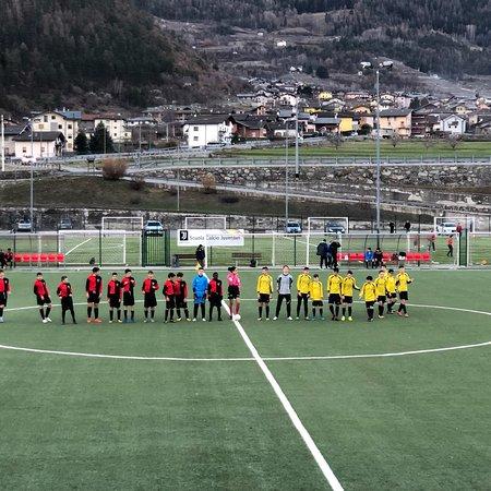 Foto del campo e di alcune partite giocate
