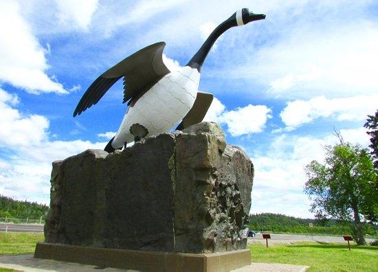 Wawa Goose Statue