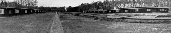 Sztutowo, Poland: pano picture of the camp