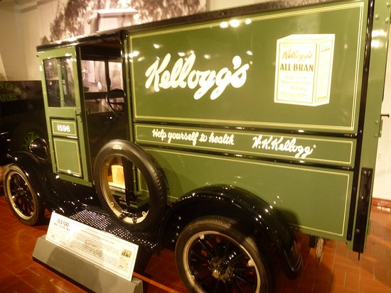 Hickory Corners, MI: Kellogg's 1926 Ford Delivery Truck