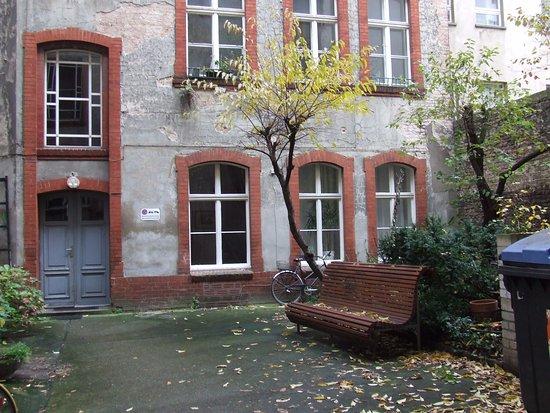 Eastside Pension: Three rooms on the ground floor