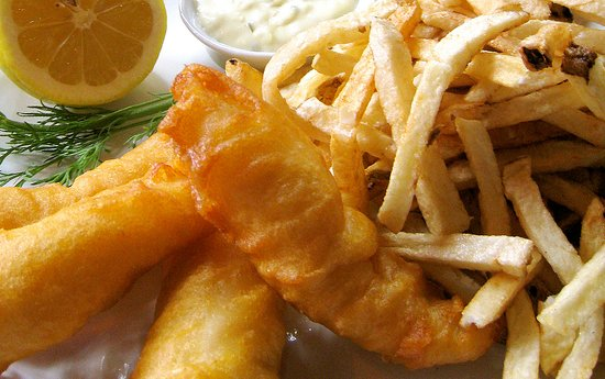 One of our specialties. The fish and the chip.